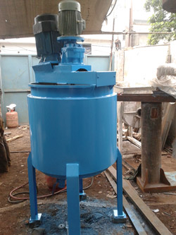 Used basically for mixing of highly viscous material, our Twin Shaft Dispersers machine consists of two agitator shaft hence it is called as twin shaft disperser, one operates at high speed and another slow speed. Dual shaft disperser are mainly used in paint industries for mixing plant. Our ranges includes twin shaft disperser machine, dual shaft disperser machine, twin shaft mixer, dual shaft high speed disperser, twin shaft high speed disperser, double shaft high speed disperser, high speed disperser, twin shaft mixer and dual shaft mixer.