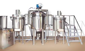 Cosmetic Cream Lotion Ointment Mixing Tanks And Manufacturing Plant
