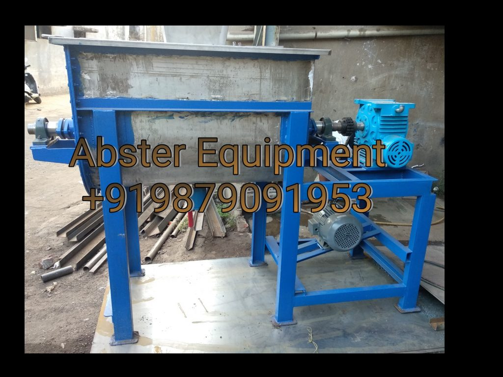 U type ribbon blender mixer