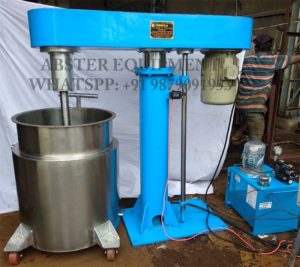 Hydraulic high speed disperser dissolver