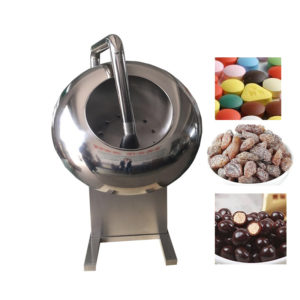 milk Candy sugar coating pan